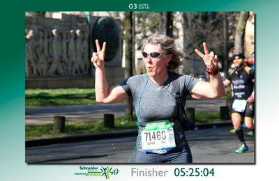 Une nouvelle marathonienne au club
