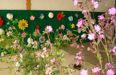 Exposition  Floralies Sauvages ,Petite Salle Polyvalente