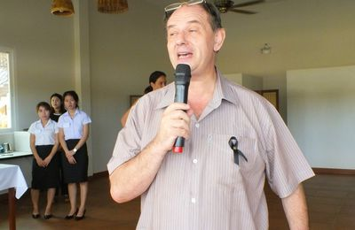 17 janvier 2017 : Udonthani, Anniversaire d'Alain Cahen à la fondation PIMALI