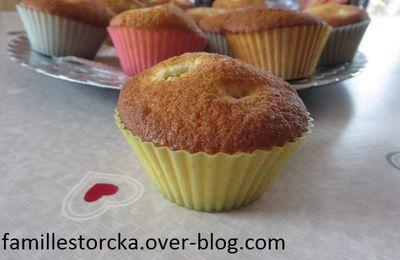 muffins coco-kiwi
