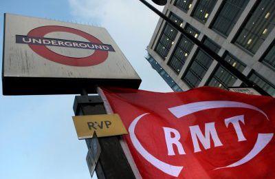 Grève d'envergure dans le métro londonien - communiqué de presse du RMT britannique