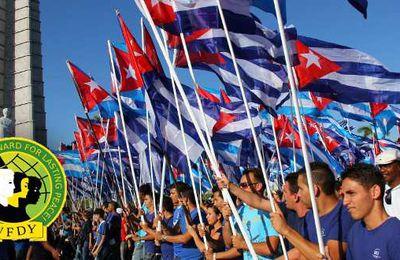 Vive la Révolution cubaine! - DÉCLARATION DE SOLIDARITÉ DE LA FÉDÉRATION MONDIALE DE LA JEUNESSE DÉMOCRATIQUE AVEC LA RÉVOLUTION CUBAINE