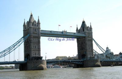 Tower Bridge à #Londres (GB)