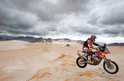Dakar Moto, Antoine Meo rentre dans le trio de tête