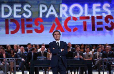 """Bruxelles - Edition spéciale de """"Des paroles et des actes"""" en direct demain soir"""