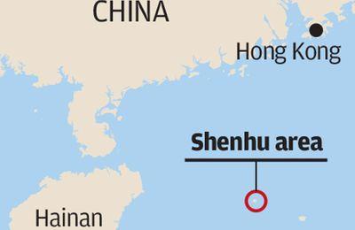 La flamme bleue : La Chine vient d'extraire avec succés du gaz à partir d'hydrates de méthane .