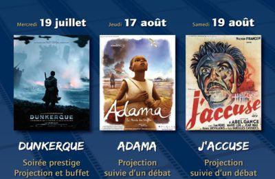 Kulturkampf : L'Empéri fait son cinéma - Dunkerque - Adama le monde du souffle - J'accuse