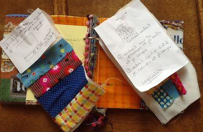 pochette  textile