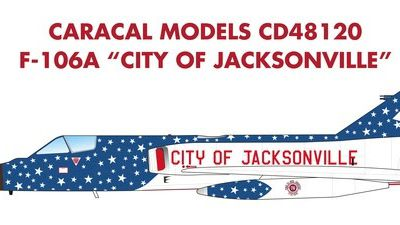 "Convair F-106 ""Delta Dart"" - 159th Fighter-Interceptor Squadron ""City of Jacksonville"" -"