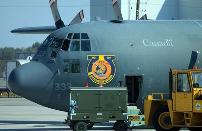 "Lockheed CC-130H ""Hercules"" - 8 Wing - 424 Tiger Squadron - 75 years of ""City of Hamilton squadron"""