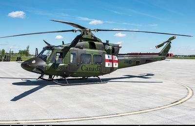 "Bell CH-146 Griffon - 1 Wing - 438 Tactical Helicopter Squadron ""Wildcats"" - 375th anniversary ""City of Montreal"""
