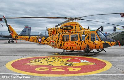 "Bell CH-146 Griffon - 3 Wing - 439 Combat Support Squadron ""Sabre-Toothed Tiger"" - 75th anniversary"