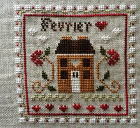 Février de Little House Needleworks