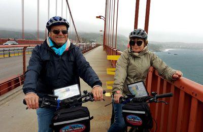 ETE 2017 : jour 4  / San Francisco - Sausalito à vélo