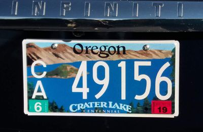 ETE 2017 : jour 9 / Crater Lake