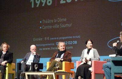 Journées Nationales du Livre et du Vin 2016 à Saumur : Table ronde (1), Les grands personnages de l'Histoire.