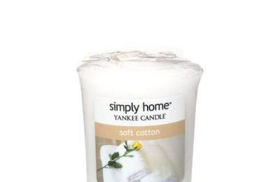 Ma bougie Soft Cotton de Yankee Candle