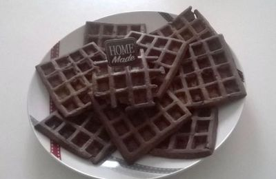 Gaufres au cacao