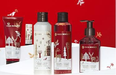 La collection de Noël chez Yves Rocher