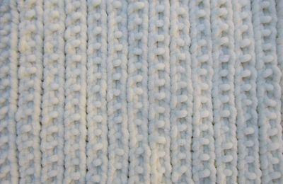 Snood en fil chenille