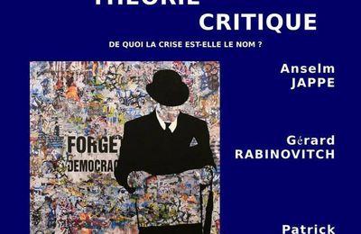Narcissisme ? Intervention d'Anselm Jappe à Nantes dans le cadre de la rencontre « Dédale de la Théorie critique » [Nantes, 12 mai, 20h]