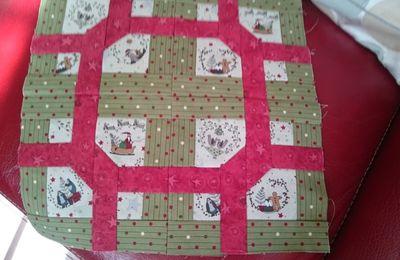 Patch de Noël   LE BLOC DU NOEUD avec Lynette