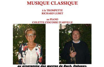 Concert à Saint-Paterne-Racan