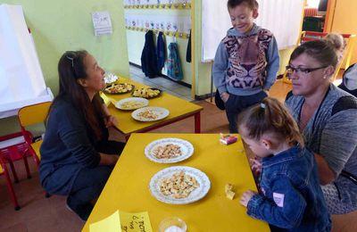 Portes ouvertes à la maternelle de Saint-Paterne-Racan