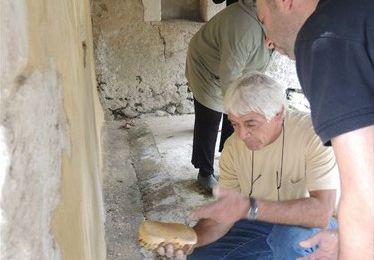 Atelier restauration du patrimoine : peinture à la chaux