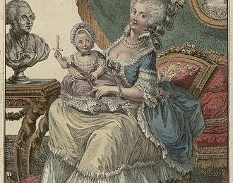 20 septembre 1807: Madame de Guéméné, gouvernantes des enfants royaux