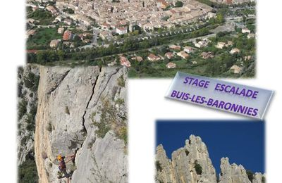 Stage Escalade 1s2-1es2-Ts2-Tes2 à Buis-les-Baronnies