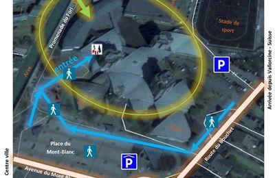 Plan d'accès Cité Scolaire Roger Frison-Roche