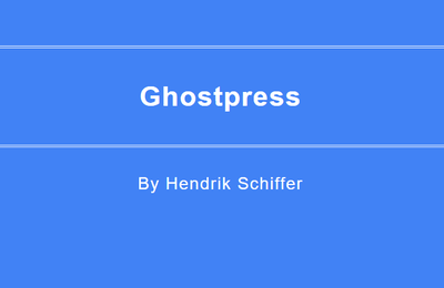 GHOSTPRESS, un anti keyloggeur portable.
