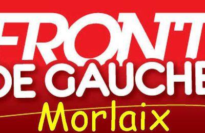 Remerciement aux électeurs: communiqué des candidats du Front de Gauche de Plouigneau et Morlaix