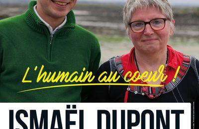 """Calendrier de campagne - élections législatives: Ismaël Dupont et Murielle Grimardias, """"l'humain au coeur"""", candidats PCF-Front de Gauche"""