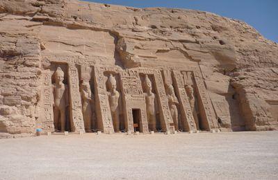 CHAMPOLLION  EN  ÉGYPTE  :  ABOU-SIMBEL