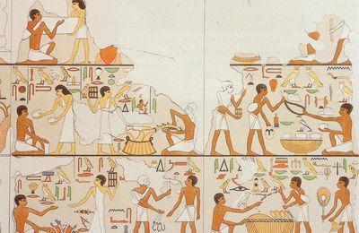 L'ÉGYPTOLOGIE TCHÈQUE : III. LES FOUILLES D' ABOUSIR DURANT LA DERNIÈRE DÉCENNIE DU XXème SIÈCLE - 5. LA TOMBE DE FETEKTI : PRÉMICES À LA SCÈNE DE MARCHÉ