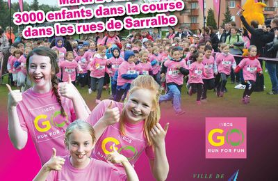 """Go run for fun"" 2ème édition - Inéos Sarralbe, mai 2016"