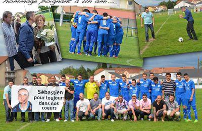Le FC Sarralbe rend un dernier hommage à l'un des leurs... - Sarralbe, mai 2016
