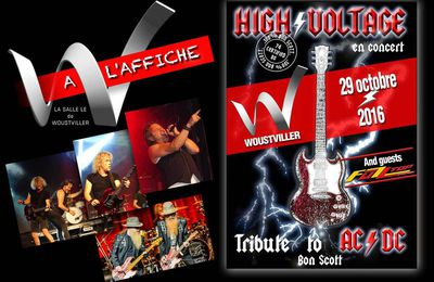 High Voltage et Fuzz Top au W de Woustviller - septembre 2016