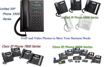 Cisco VoIP and Video Phones to Meet a Range of Needs