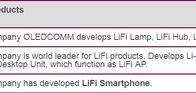 LiFi vs. WiFi-Basic Difference between LiFi and WiFi