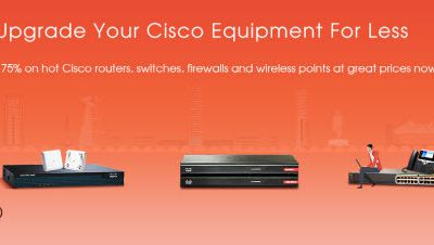 Upgrade Your Cisco Equipment for Less