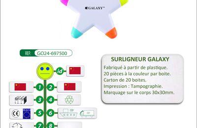 Surligneur GALAXY avec 5 couleurs d'encre - GO24-697500