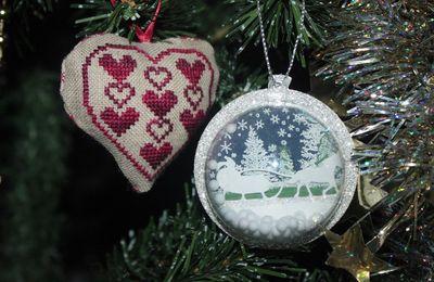 Des boules de Noël très personnalisées Stampin' Up !
