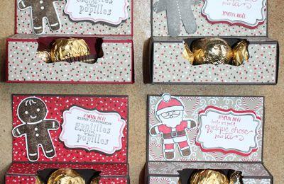 Petite boîte de Ferrero et d'escargot