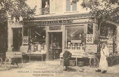 Chelles centre gare 1916-2016