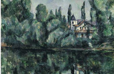 Paul Cézanne et le bord de Marne