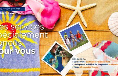 Le nouveau catalogue vacances IRP AUTO printemps - été 2016 est disponible