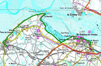 (80) En Baie de Somme, de Cayeux-sur-Mer à Saint-Valéry-sur-Somme.